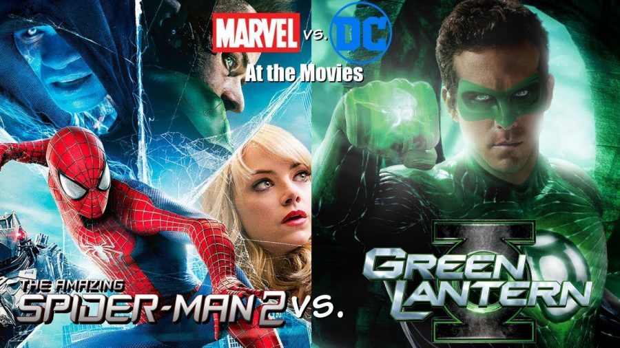 The Amazing Spider-Man 2 vs Green Lantern: Marvel vs DC at the movies.