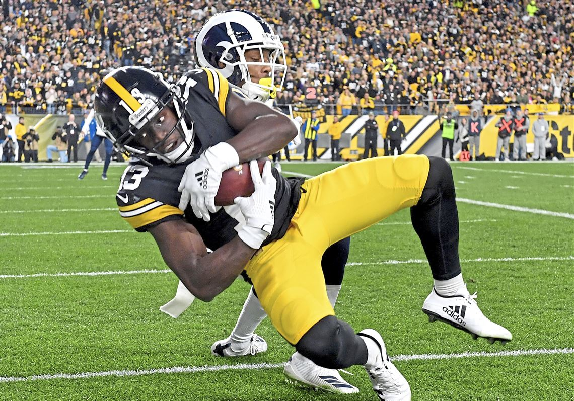 James Washington scores TD.  Picture: Pittsburgh Post- Gazette