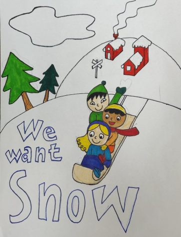 """We Want Snow"" by Tommy Voinchet"
