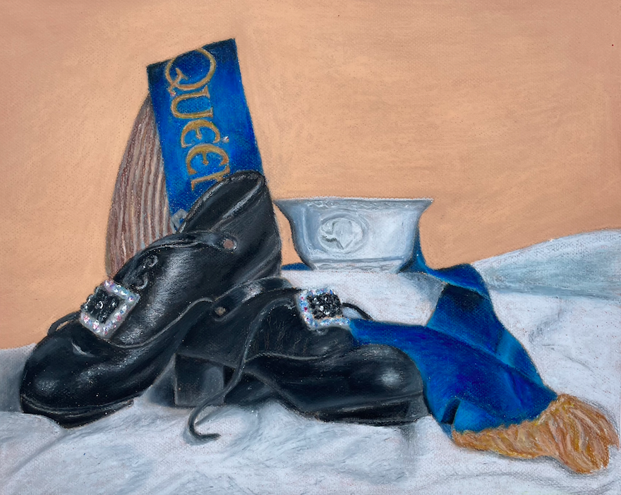 Still Life of Dance Shoes