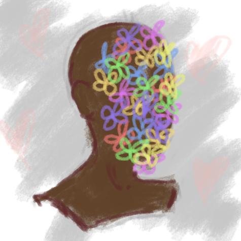 """Art: """"Flowerface"""" by Josey Riegel"""