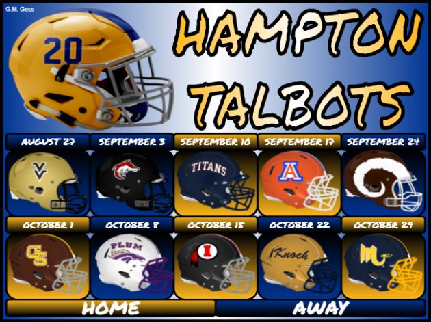 Hampton Football starts off in the Catbird Seat